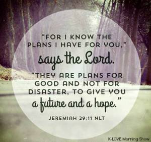 God's plans are for good